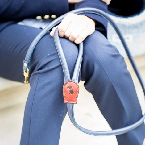 The Hattie Luxury Rolled Leather Dog Lead 2