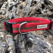 Reg&Bob - Red Dog Collar