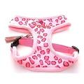 Pink Leopard Print Pet Harness & Pet Lead