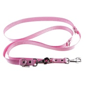 El Perro - Adjustable Juicy Style Dog Lead - Baby Pink