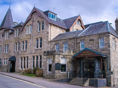 Scotlands Spa Hotel, Perthshire, Pitlochry