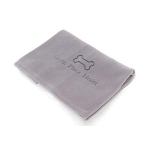 Personalised Pet Fleece Blanket – Grey