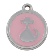 Tagiffany - My Sweetie Light Pink Cat Pet ID Tag