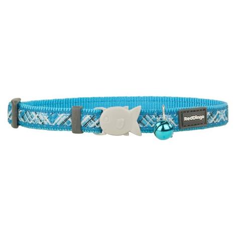 Flanno Cat Collar – Turquoise