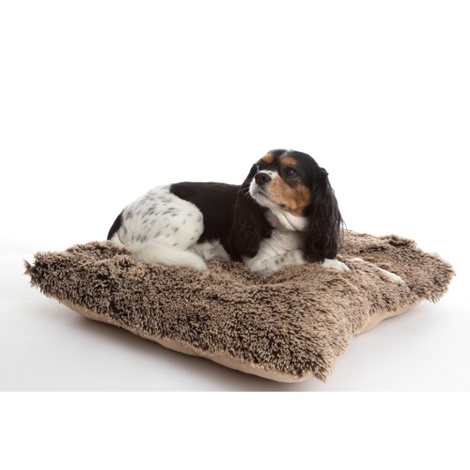 Pooch Pad Dog Pillow - Brown 2