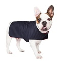 Personalised Pinstripe Dog Coat