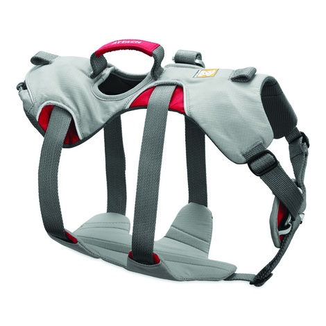 Doubleback Dog Harness – Cloudburst Gray