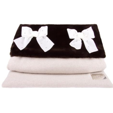 Dog Bed Sleep Sack in Embellished Cashmere