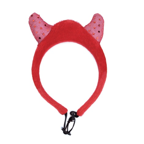 Doggy Things Halloween LED Light Up Devils Horns 2