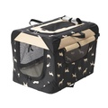 Water Resistant Print Collapsible Crate
