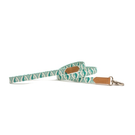 Green Geo Classic Dog Lead 3