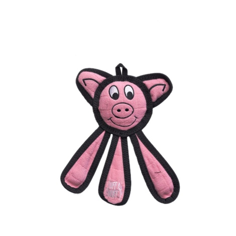 Dangles Pig Squeaky Dog Toy 2
