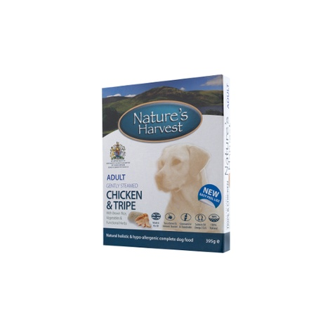 10 x Complete Wet Dog Food - Chicken, Tripe, Rice