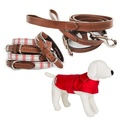 Cranberry Set - Dog Coat, Collar and Lead
