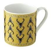 Lisa Bliss - Stag Mug in Mustard