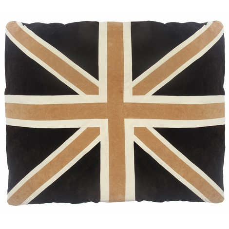 Cat Nappa Union Jack – Tan/Brown
