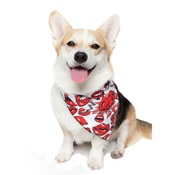 PetsPyjamas - Lips Dog Bandana