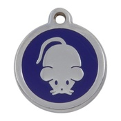 Tagiffany - My Sweetie Blue Mouse Pet ID Tag