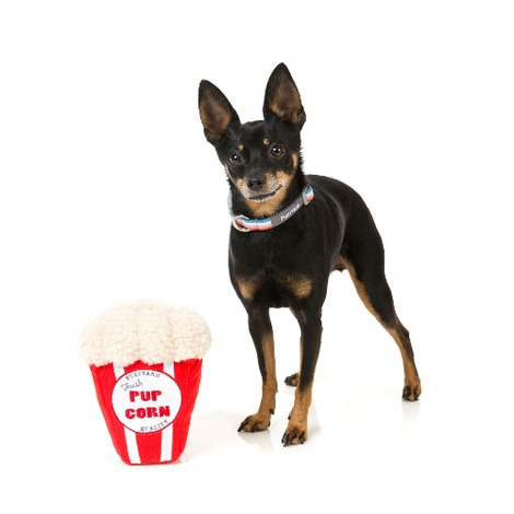 Plush Pupcorn Dog Toy 2