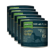 Natures Menu - Duck Plum Wet Food Dog Food x 6