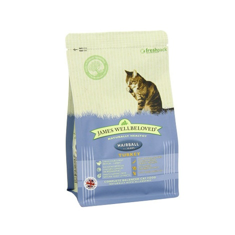 Turkey & Rice Hairball Dry Food Cat Food