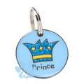 K9 Small Prince Cat ID Tag