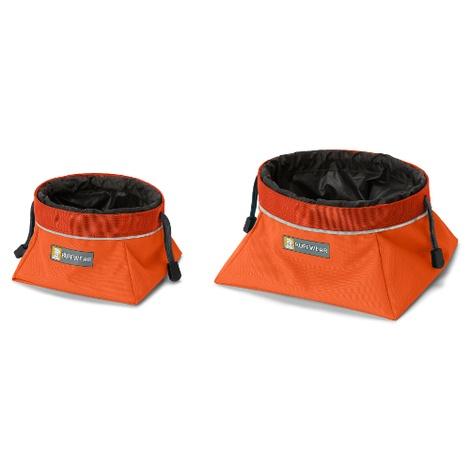 Quencher Cinch Top Bowl - Pumpkin Orange 5