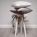 Velvet Scatter Cushion - Taupe 2