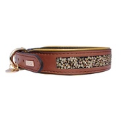 DO&G - Precious Stones Collar Brown/Gold