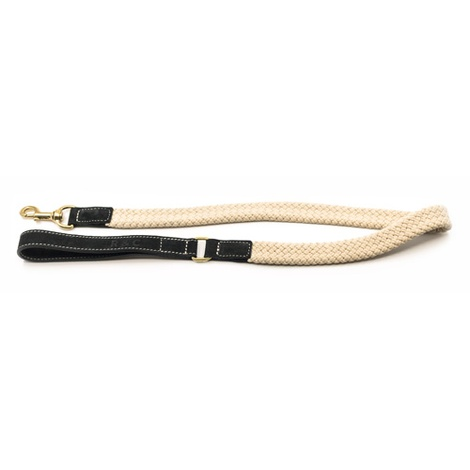 Rope lead (flat) - Black 2