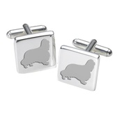 WithLoveFrom - Cufflinks - Cavalier King Charles Spaniel