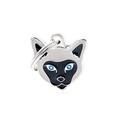 Siamese Cat Engraved ID Tag
