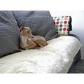 Faux-Fur Fleece Comforters - Dotty Chocolate 3