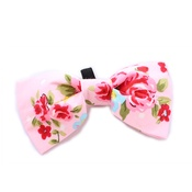 Pet Pooch Boutique - Pink Vintage Bow Tie