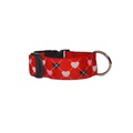 Queen of Hearts Dog Collar
