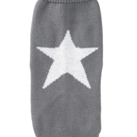 Grey Star Jumper for dogs