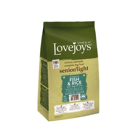 Lovejoys Senior/Light Fish & Rice Dry Dog Food 12kg