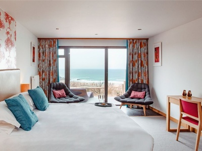 Bedruthan Hotel and Spa, Cornwall, Mawgan Porth