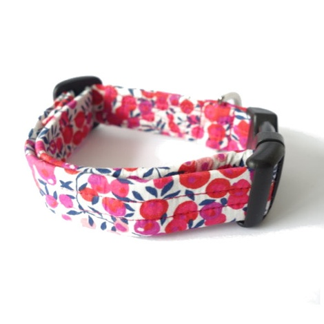 Tiggy Liberty Print Dog Collar