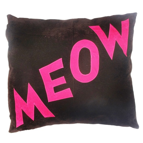Cat Nappa Meow – Chocolate/Pink