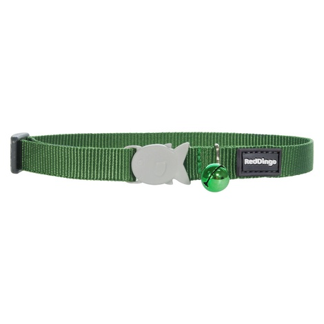 Plain Green Cat Collar