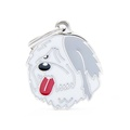 Old English Sheep Dog Engraved ID Tag