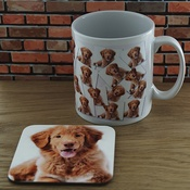 WithLoveFrom - Personalised Mug and Coaster Set - My Dog