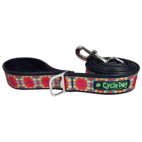 Kaleidoscope Red Orange Dog Lead