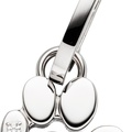 Diamond Paw Dog Collar Pendant