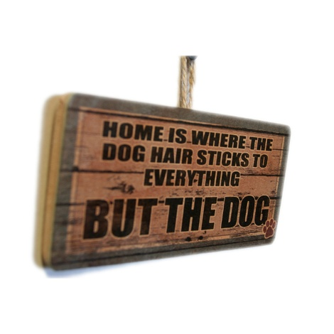 Home Is Where...' Dog Owner Sign 2