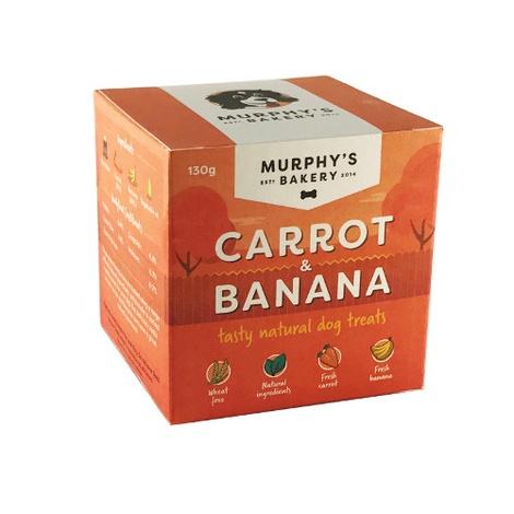 Carrot & Banana Bone Dog Treats x 3