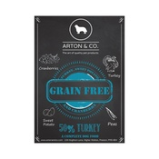 Arton & Co - Turkey, Sweet Potato & Cranberry Complete Dog Food
