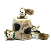Outward Hound - Hide-A-Squirrel Plush Dog Toy