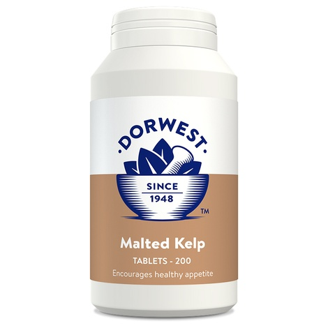 Malted Kelp Tablets for Dogs and Cats 2